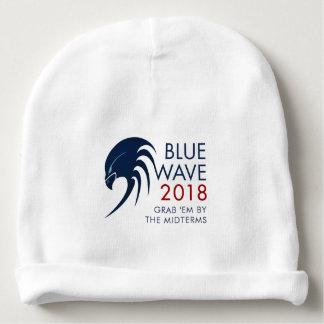 Blue Wave 2018 Tsunami Resistance Midterm Election Baby Beanie