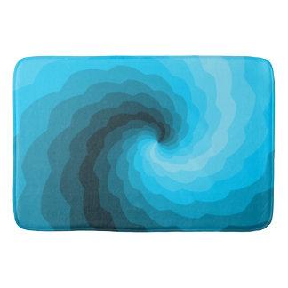Blue Wave Bath Mat Bath Mats