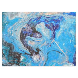 Blue Wave Gift Tissue Wrap Tissue Paper