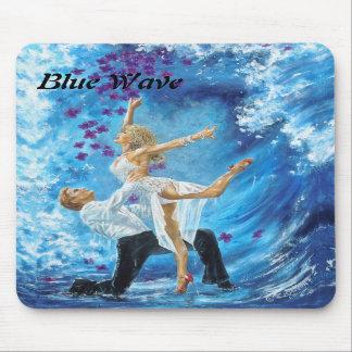 Blue Wave Mouse Pads