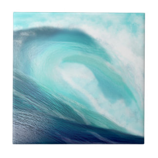 Blue Wave Tile