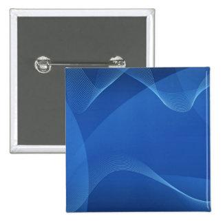 Blue Waves 15 Cm Square Badge