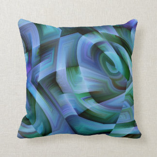 Blue Waves Cushion