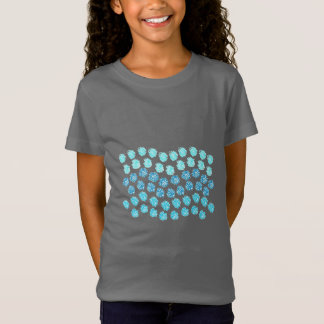 Blue Waves Girls' Fine Jersey T-Shirt
