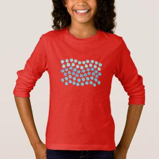 Blue Waves Girls' Long Sleeve T-Shirt