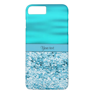 Blue Waves & Glitter iPhone 7 Plus Case