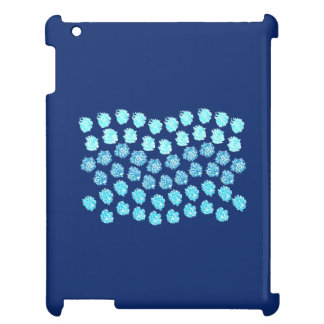 Blue Waves Glossy iPad Case