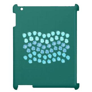 Blue Waves Glossy iPad Case