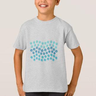 Blue Waves K T-Shirt