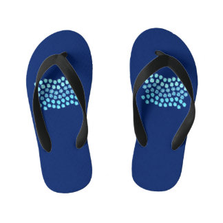 Blue Waves Kids' Flip Flops