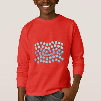 Blue Waves Kids' Long Sleeve T-Shirt