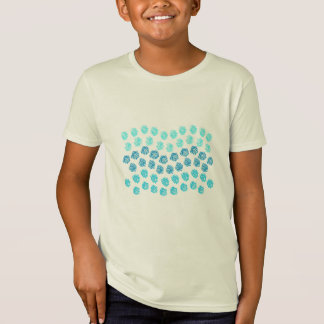 Blue Waves Kids' Organic T-Shirt