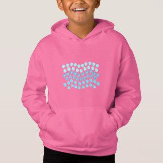 Blue Waves Kids' Pullover Hoodie
