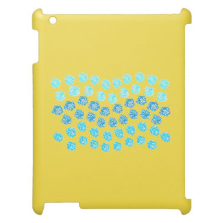 Blue Waves Matte iPad Case