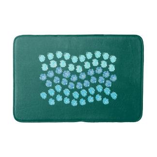 Blue Waves Medium Bath Mat