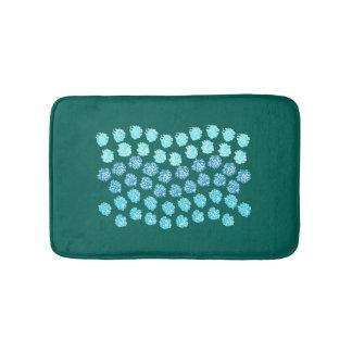 Blue Waves Small Bath Mat Bath Mats