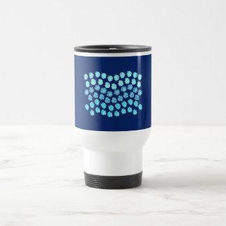 Blue Waves Travel Mug