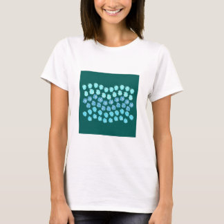 Blue Waves Women's Basic T-Shirt