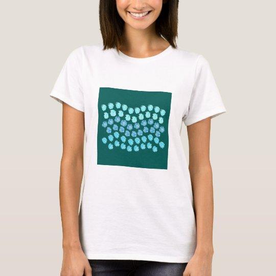 Blue Waves Women's Basic T-Shirt