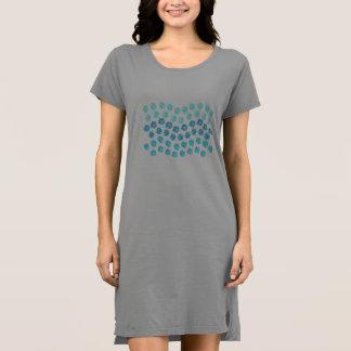Blue Waves Women's Dress T-Shirt