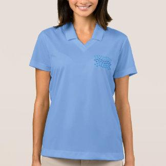 Blue Waves Women's Pique Polo T-Shirt
