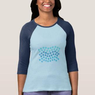 Blue Waves Women's Raglan T-Shirt