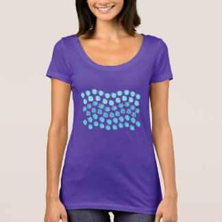 Blue Waves Women's Scoop Neck T-Shirt