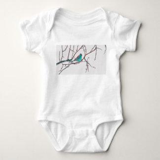 Blue Waxbill Baby Bodysuit