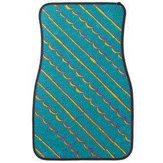 blue weathered wood shinglesThunder_Cove Floor Mat