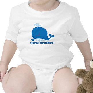 Blue Whale Little Brother Tee Shirt