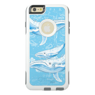 Blue Whales Family OtterBox iPhone 6/6s Plus Case