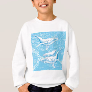 Blue Whales Family Sweatshirt