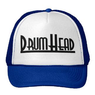 blue/white/black DrumHead trucker hat