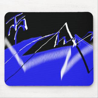 Blue,White, & Black JS Binder Mouse Pad
