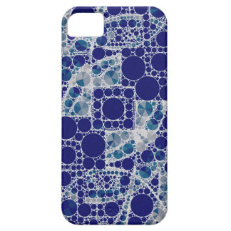 Blue White Bling iPhone 5 Covers