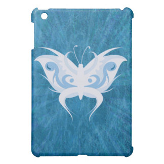 Blue White Butterfly iPad Speck Case Cover For The iPad Mini