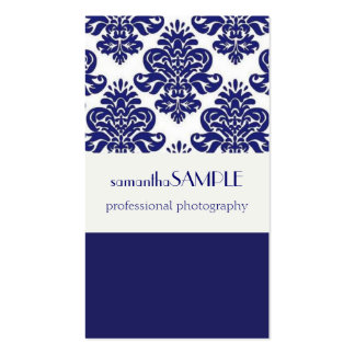 Blue White Delight Business Cards