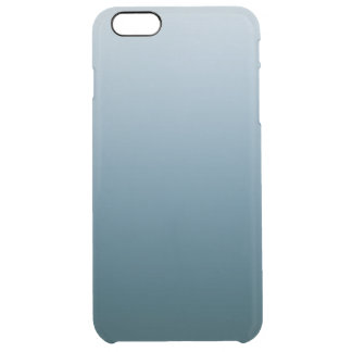 Blue White Gradient iPhone 6+ Clear Case