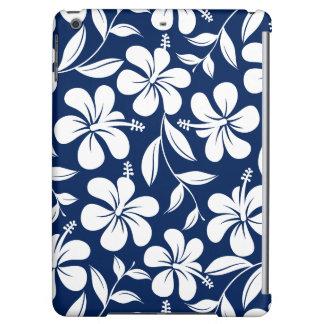 Blue & white hibiscus