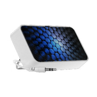Blue White - iPod iPhone MP3 Speakers
