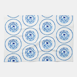 Blue White Kitchen Towel