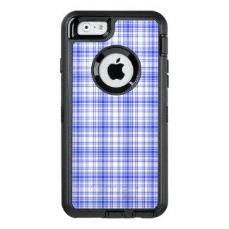 Blue White Plaid 2 OtterBox iPhone 6/6s Case
