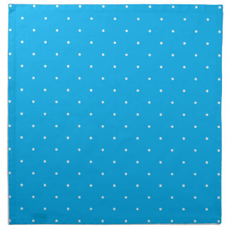 Blue & White Polka Dots Cloth Napkins