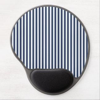 Blue & White Sailor Stripes Mousepad