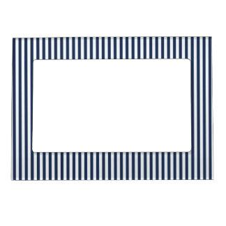 Blue & White Sailor Stripes Picture Frame