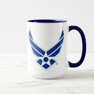 Blue & White United States Air Force Logo