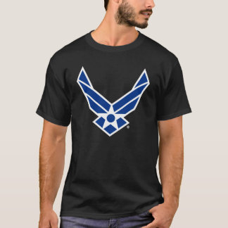 Blue & White United States Air Force Logo T-Shirt