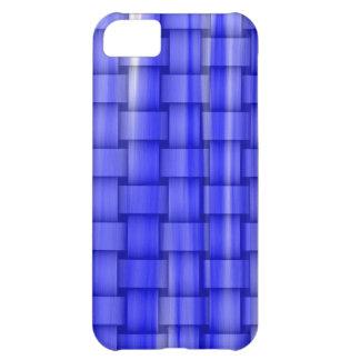 Blue wicker retro graphic design iPhone 5C case