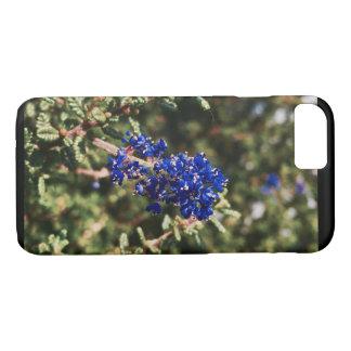 Blue wildflower phone case