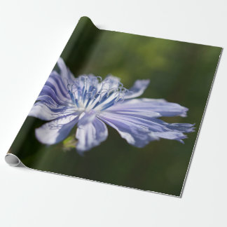 "Blue Wildflower Wrapping Paper, 30"" x 6' Wrapping Paper"